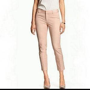 Banana Republic pink Sloan crop pants 4